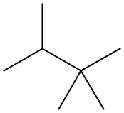 Chemical Structure for 2,2,3-Trimethylbutane