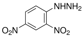 Chemical Structure for 2,4-Dinitrophenylhydrazine (water added)