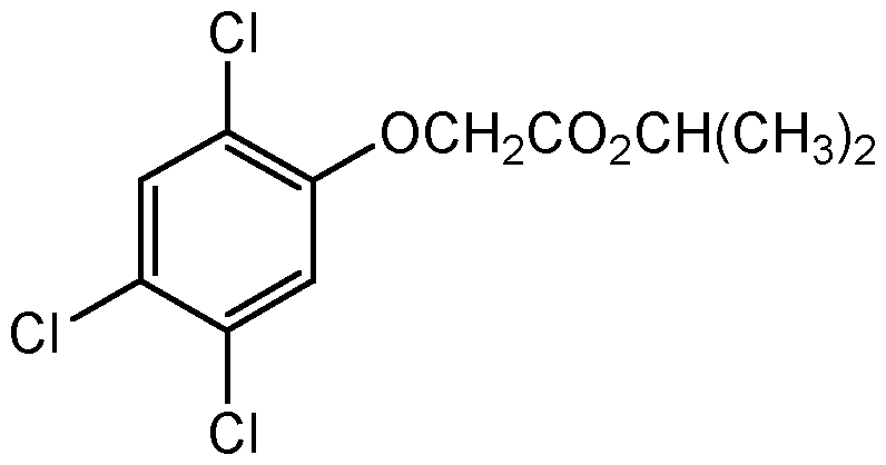 Chemical Structure for 2,4,5-T isopropyl ester