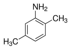 Chemical Structure for 2,5-Dimethylaniline