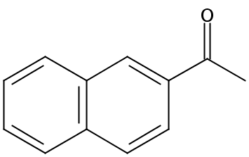 Chemical Structure for 2'-Acetonaphthone