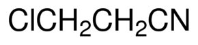 Chemical Structure for 3-Chloropropionitrile