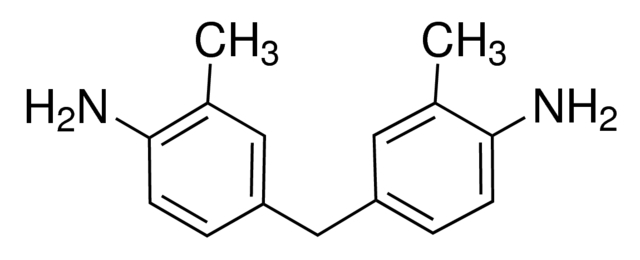 Chemical Structure for 3,3'-Dimethyl-4,4'-diaminodiphenylmethane