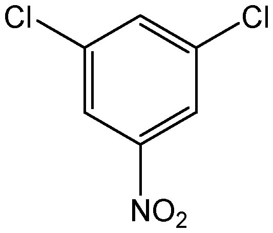 Chemical Structure for 3,5-Dichloronitrobenzene