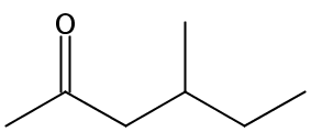 Chemical Structure for 4-Methyl-2-hexanone