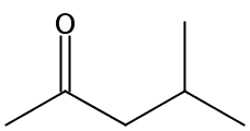 Chemical Structure for 4-Methyl-2-pentanone