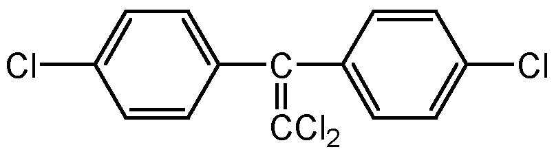 Chemical Structure for 4,4'-DDE
