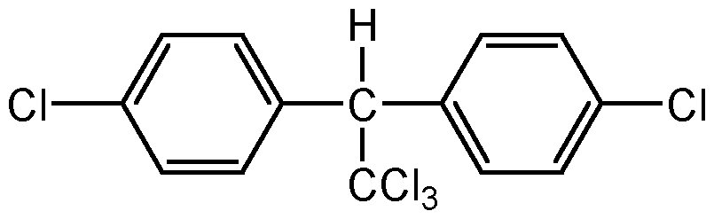 Chemical Structure for 4,4'-DDT