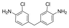 Chemical Structure for 4,4'-Methylene bis(o-chloroaniline)