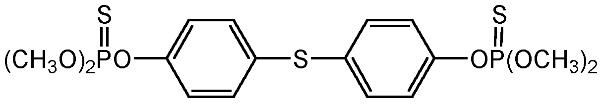 Chemical Structure for Temephos