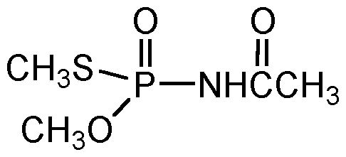 Chemical Structure for Acephate