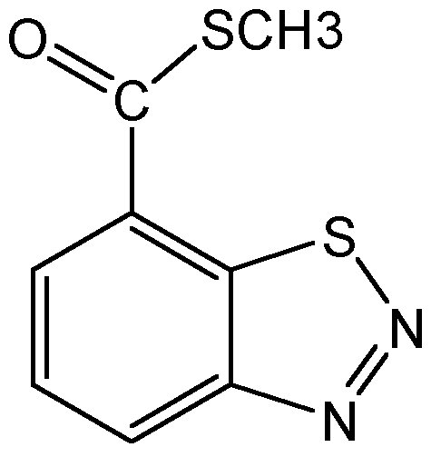 Chemical Structure for Acibenzolar-S-methyl