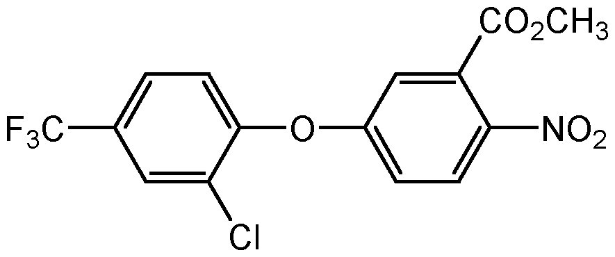 Chemical Structure for Acifluorfen methyl ester