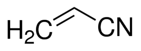 Chemical Structure for Acrylonitrile