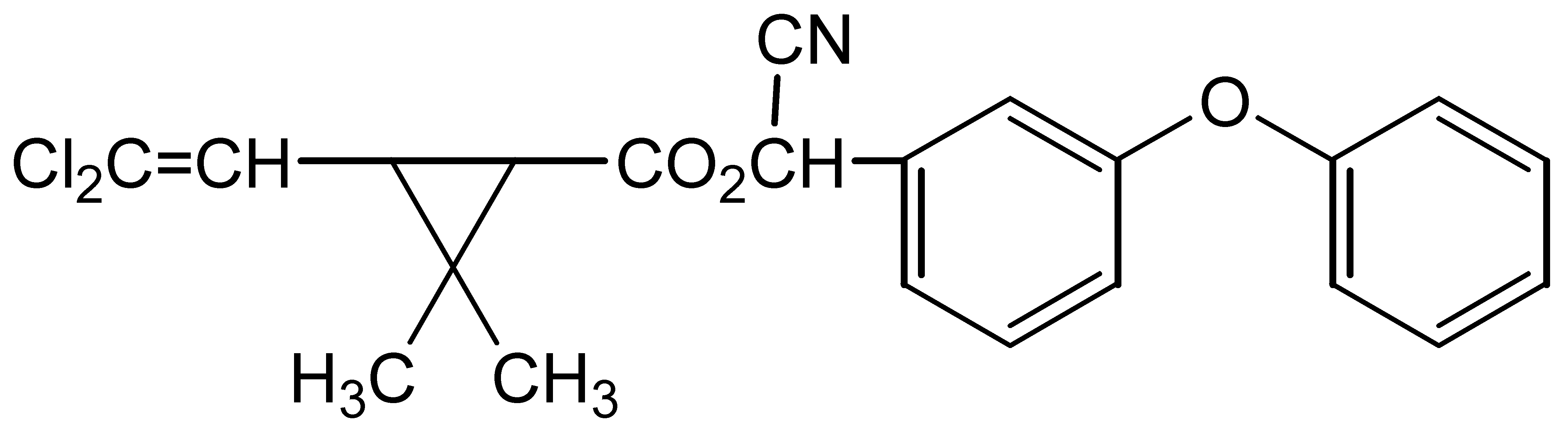 Chemical Structure for alpha-Cypermethrin