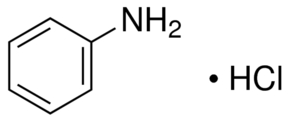 Chemical Structure for Aniline hydrochloride