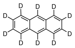 Chemical Structure for Anthracene-d10