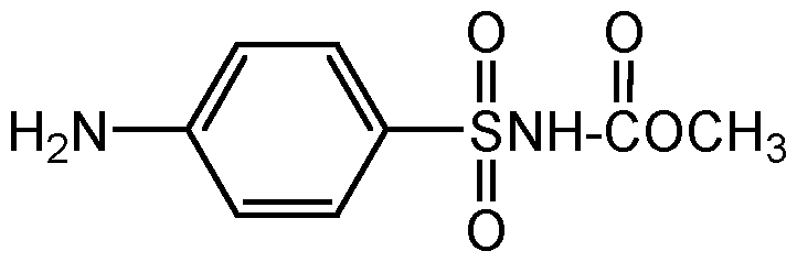 Chemical Structure for Asulam