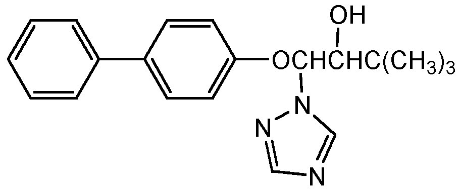 Chemical Structure for Bitertanol