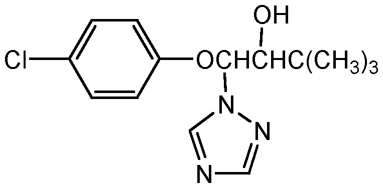 Chemical Structure for Triadimenol