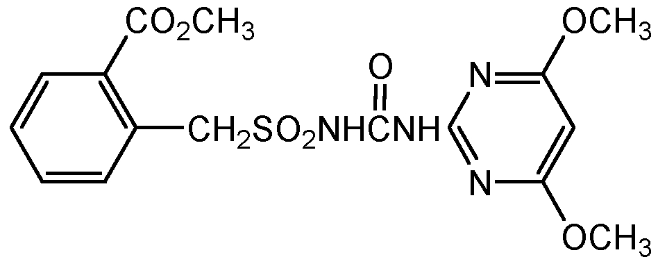 Chemical Structure for Bensulfuron-methyl