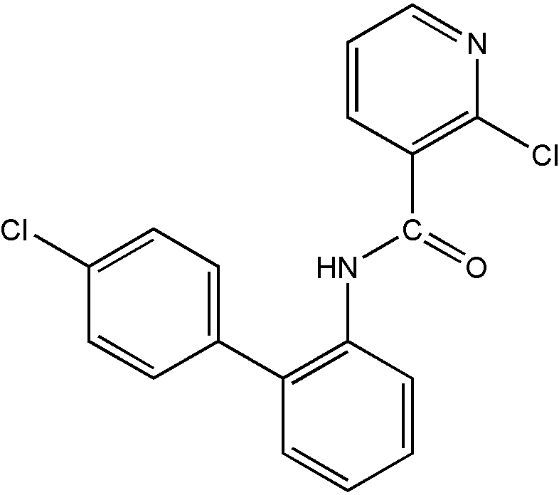 Chemical Structure for Boscalid
