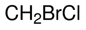 Chemical Structure for Bromochloromethane