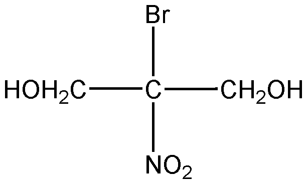 Chemical Structure for Bronopol