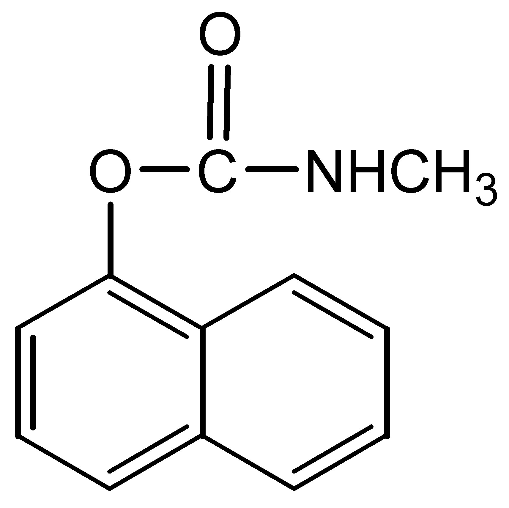 Chemical Structure for Carbaryl