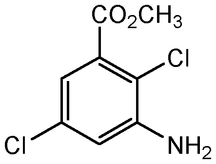 Chemical Structure for Chloramben methyl ester