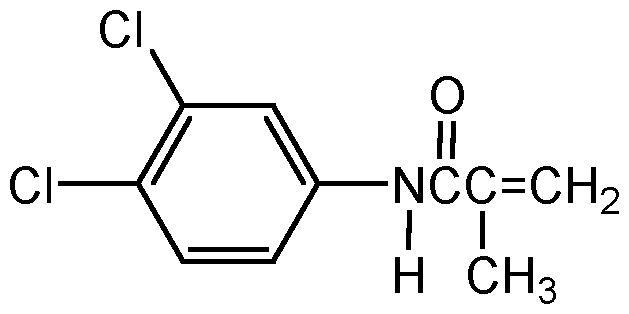 Chemical Structure for Chloranocryl
