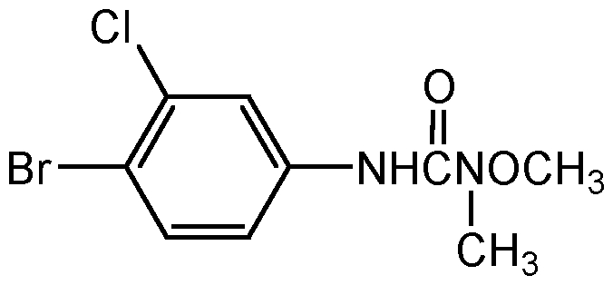Chemical Structure for Chlorbromuron