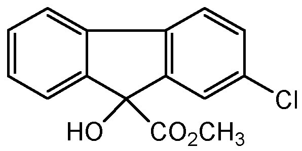 Chemical Structure for Chlorflurecol-methyl ester
