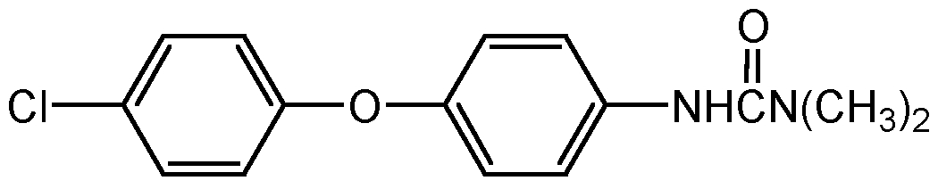 Chemical Structure for Chloroxuron