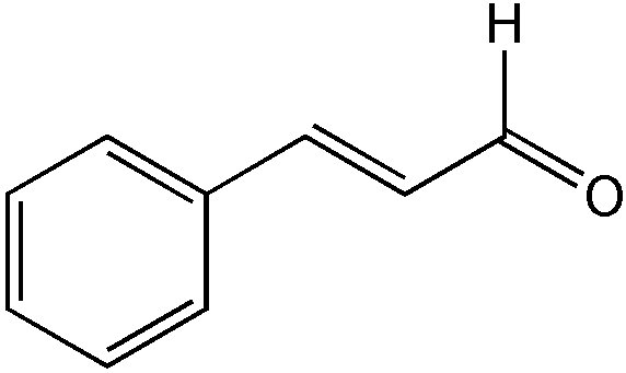 Chemical Structure for Cinnamaldehyde