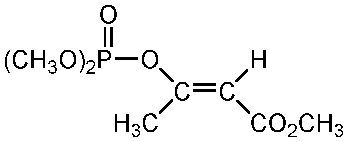 Chemical Structure for E-Mevinphos