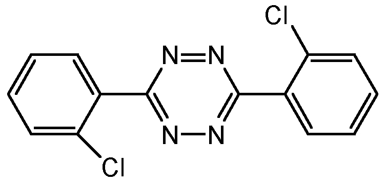 Chemical Structure for Clofentezine
