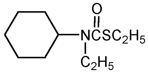 Chemical Structure for Cycloate