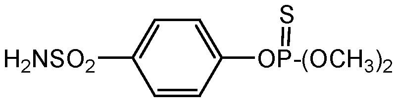 Chemical Structure for Cythioate