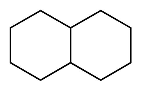 Chemical Structure for Decahydronaphthalene