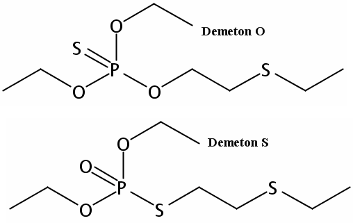 Chemical Structure for Demeton O&S