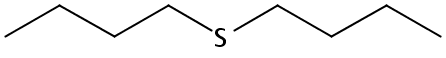 Chemical Structure for Di-n-butyl sulfide