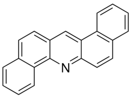 Chemical Structure for Dibenz(a,h)acridine