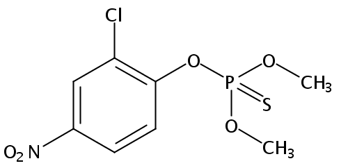 Chemical Structure for Dicapthon