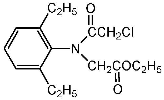 Chemical Structure for Diethatyl ethyl