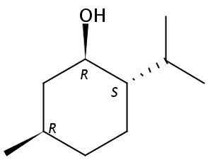 Chemical Structure for dl-Menthol