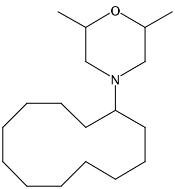 Chemical Structure for Dodemorph