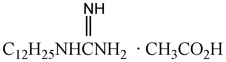 Chemical Structure for Dodine (Technical)
