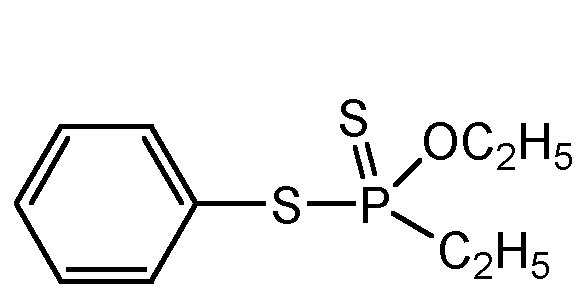 Chemical Structure for Fonofos