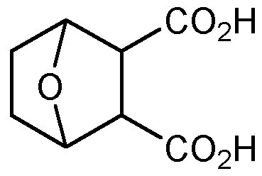 Chemical Structure for Endothal monohydrate